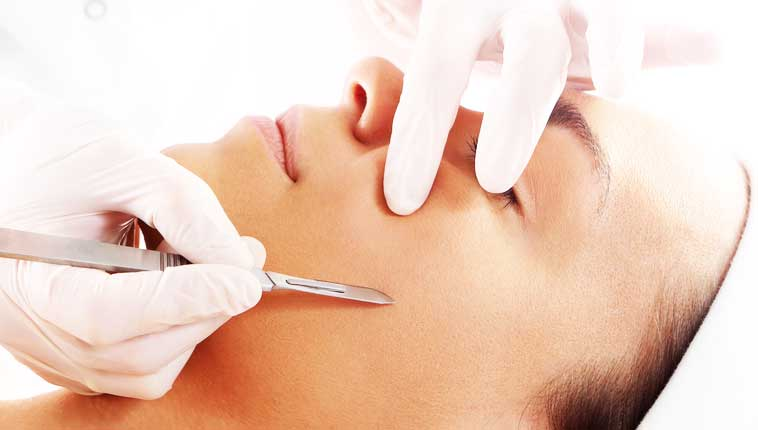 Dermaplaning procedure at North Georgia Aesthetics