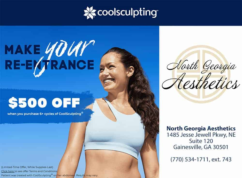 Coolsculpting $500 off